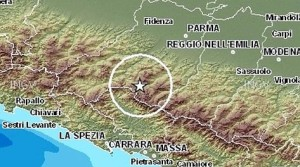 Nuova forte scossa di Terremoto nel Nord Italia, magnitudo 5.4