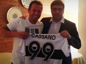 Calciomercato, Cassano al Parma spara a zero su Mazzarri