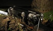 Incidente A21: camion si scontra con un Pullman di studenti, 40 feriti