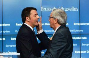 """Migranti, Juncker d'accordo con Renzi: """"Mezzi innovativi per finanziare la nostra azione"""""""