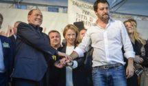 """Roma, Salvini: """"Solo un mese fa Berlusconi diceva che Marchini non era da votare"""""""