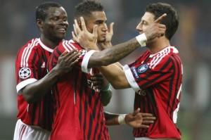 Il Milan batte 2-0 il Bate Borisov ed è primo nel girone H di Champions League