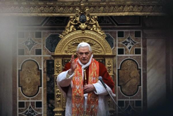 """Papa Benedetto XVI: """"Il signore faccia cessare le violenze in Siria"""""""