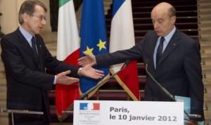 Italia-Francia, Terzi: Roma e Parigi sulla stessa linea per uscire dalla crisi