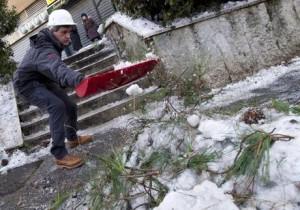 Neve e gelo, a Roma sale a quattro il numero delle vittime