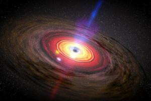 Spazio: gli UFO provengono dai buchi neri