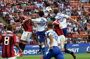 Serie A: Milan battuto in casa 1-0 dalla Sampdoria