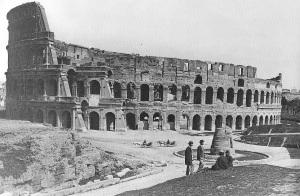 """Mussolini recitò in """"The Eternal City"""", film prodotto da un ebreo polacco"""