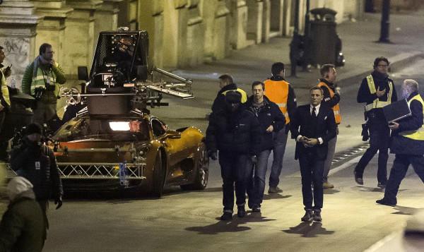 "James Bond ""Spectre"" a Roma: cena e coperte ai senza tetto"
