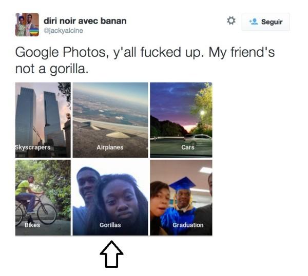 Il servizio 'Foto' di Google accusato di razzismo per il tag 'gorilla'
