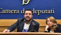 """Comunali Roma, Salvini: """"Meloni unica che può arrivare al ballottaggio con Virginia Raggi"""""""