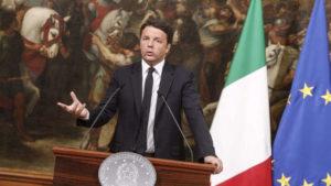 """Riforme, Renzi: """"Prossimo referendum non su di me, ma se perdo mi dimetto"""""""